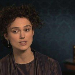 Keira Knightley über ihre neue Sicht auf die Figuren - OV-Interview