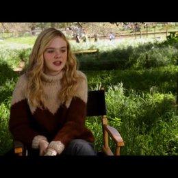 Elle Fanning - Lily Miska - über den Film - OV-Interview