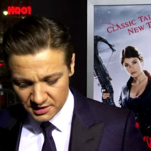 US Premiere - Jeremy Renner - Hänsel - über den Film - OV-Interview