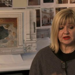 Sarah Greenwood über das Drehen am Theater - OV-Interview