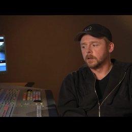 Simon Pegg über die Verfilmung der Geschichte - OV-Interview