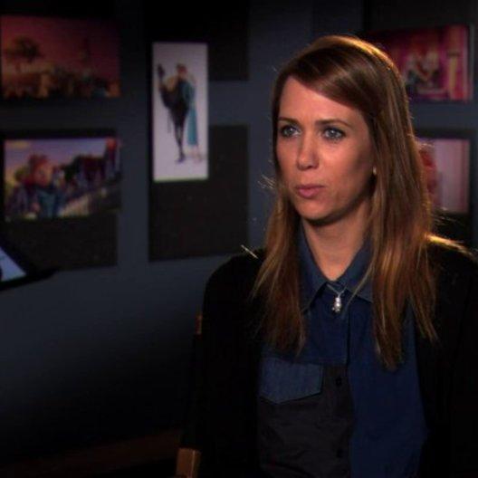 Kristen Wiig über Lucys Enthusiasmus - OV-Interview