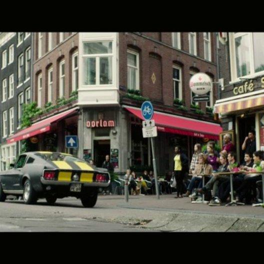 Ankunft in Amsterdam - Szene