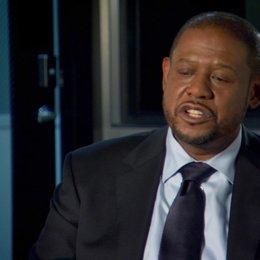 Forest Whitaker (Agent John Bannister) über die Flucht Szene - OV-Interview