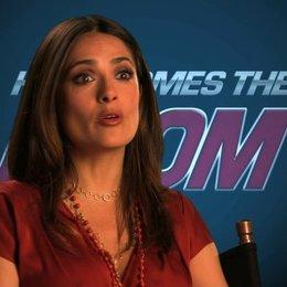 Salma Hayek über die Ausgangssituation des Films - OV-Interview