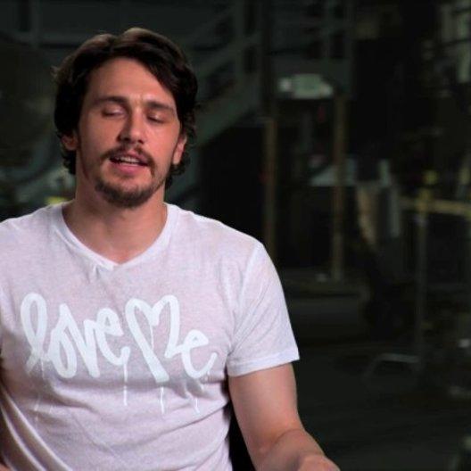 James Franco über Danny McBride - OV-Interview