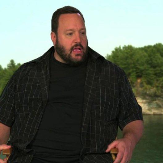 Kevin James über die Dreharbeiten - OV-Interview