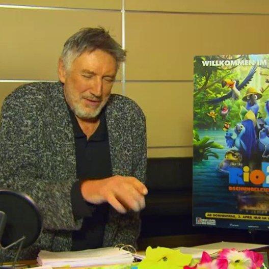 Christian Brückner - Nigel - über Nigel und Gabi - Interview