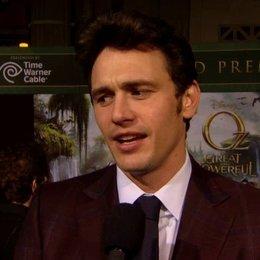 US Premiere - James Franco (Oz)  über den Reiz an dem Projekt - OV-Interview