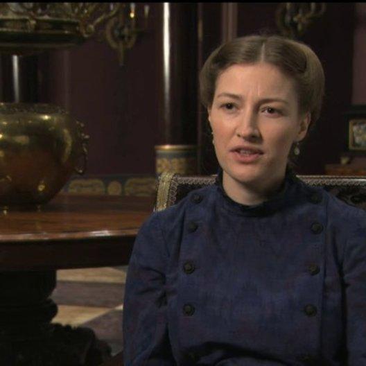 Kelly Macdonald über Joe Wright - OV-Interview