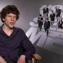 Jesse Eisenberg - J Daniel Atlas - über seine Rolle - OV-Interview
