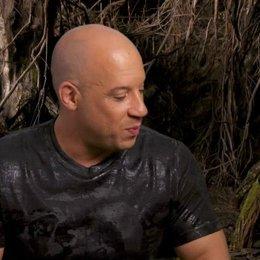 Vin Diesel - Kaulder - über Rose Leslie - OV-Interview Poster