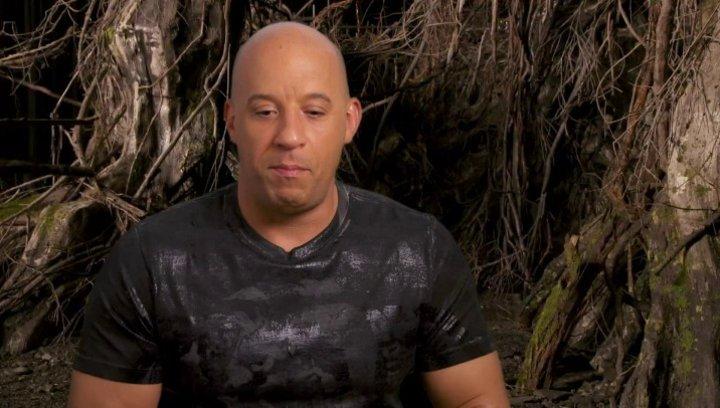 Vin Diesel - Kaulder - über Action Fantasy - OV-Interview Poster