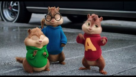 Alvin und die Chipmunks: Road Chip - Trailer Poster