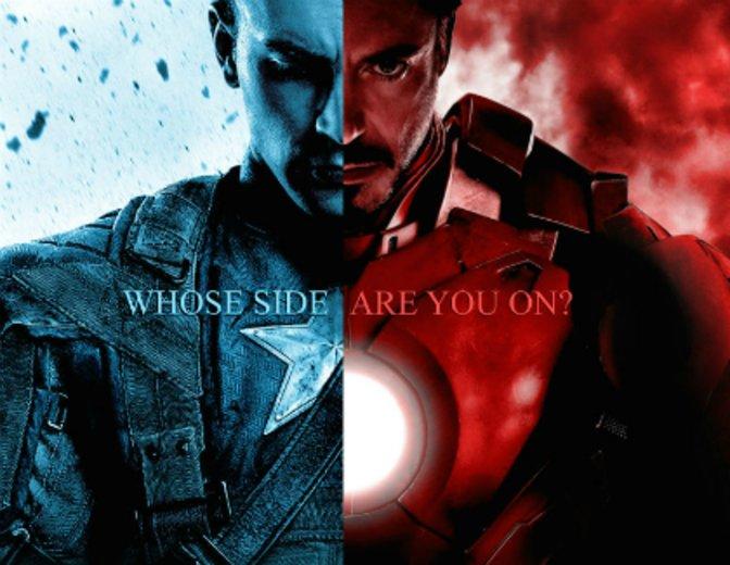 """Dies wird eine der entscheidenden Fragen in """"The First Avenger: Civil War"""" sein. © Disney / Marvel"""