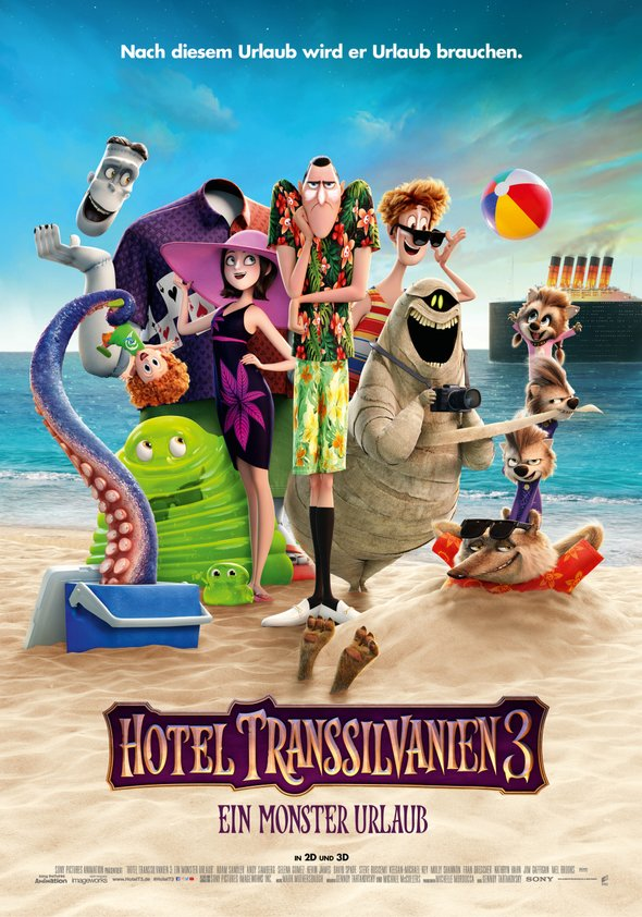 Hotel Transsilvanien 3 - Ein Monsterurlaub Poster