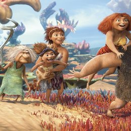 Die Croods (VoD-/BluRay-/DVD-Trailer) Poster