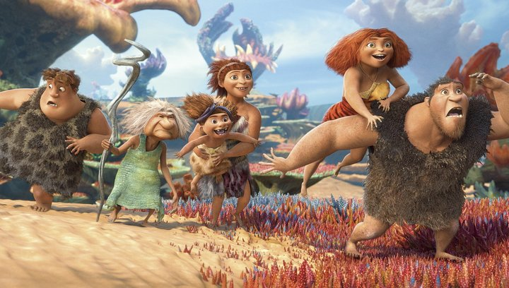 Die Croods (VoD-/BluRay-/DVD-Trailer) Poster