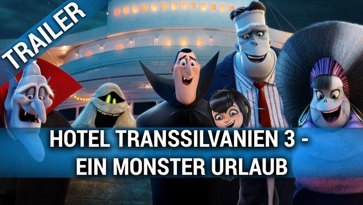 Hotel Transsilvanien 3 - Ein Monster Urlaub - Trailer Poster
