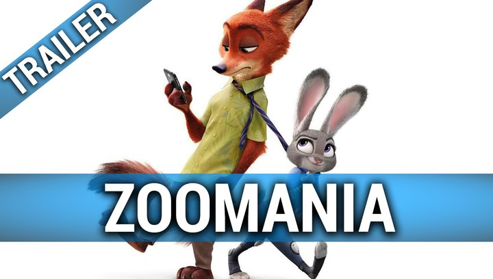 Zoomania - Trailer Deutsch Poster