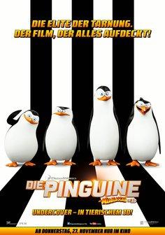 Die Pinguine aus Madagascar Poster