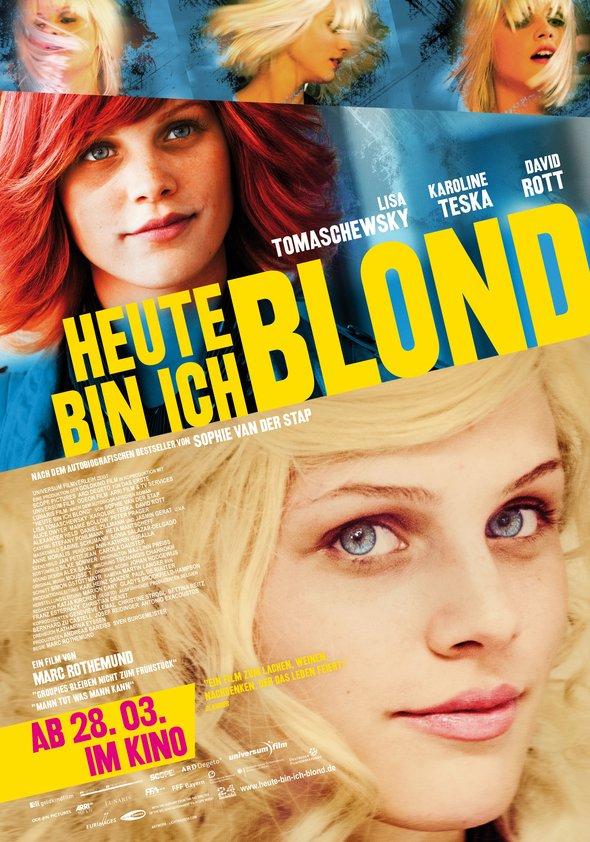 Heute bin ich blond Poster