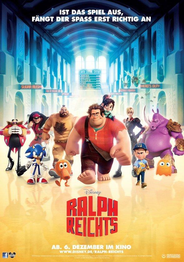 Ralph reicht's Poster