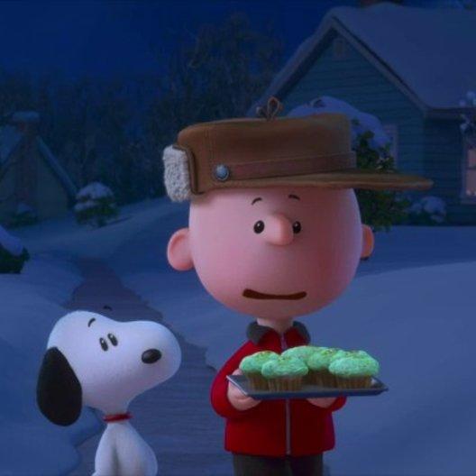 Snoopy isst alle Muffins von Charlie Brown auf - Szene Poster
