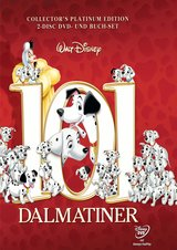101 Dalmatiner - Collector's Pack (Platinum Edition, 2 DVDs + Buch) Poster
