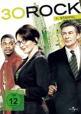 30 Rock - 1. Staffel (3 DVDs) Poster