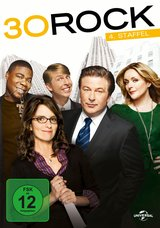 30 Rock - 4. Staffel (3 Discs) Poster