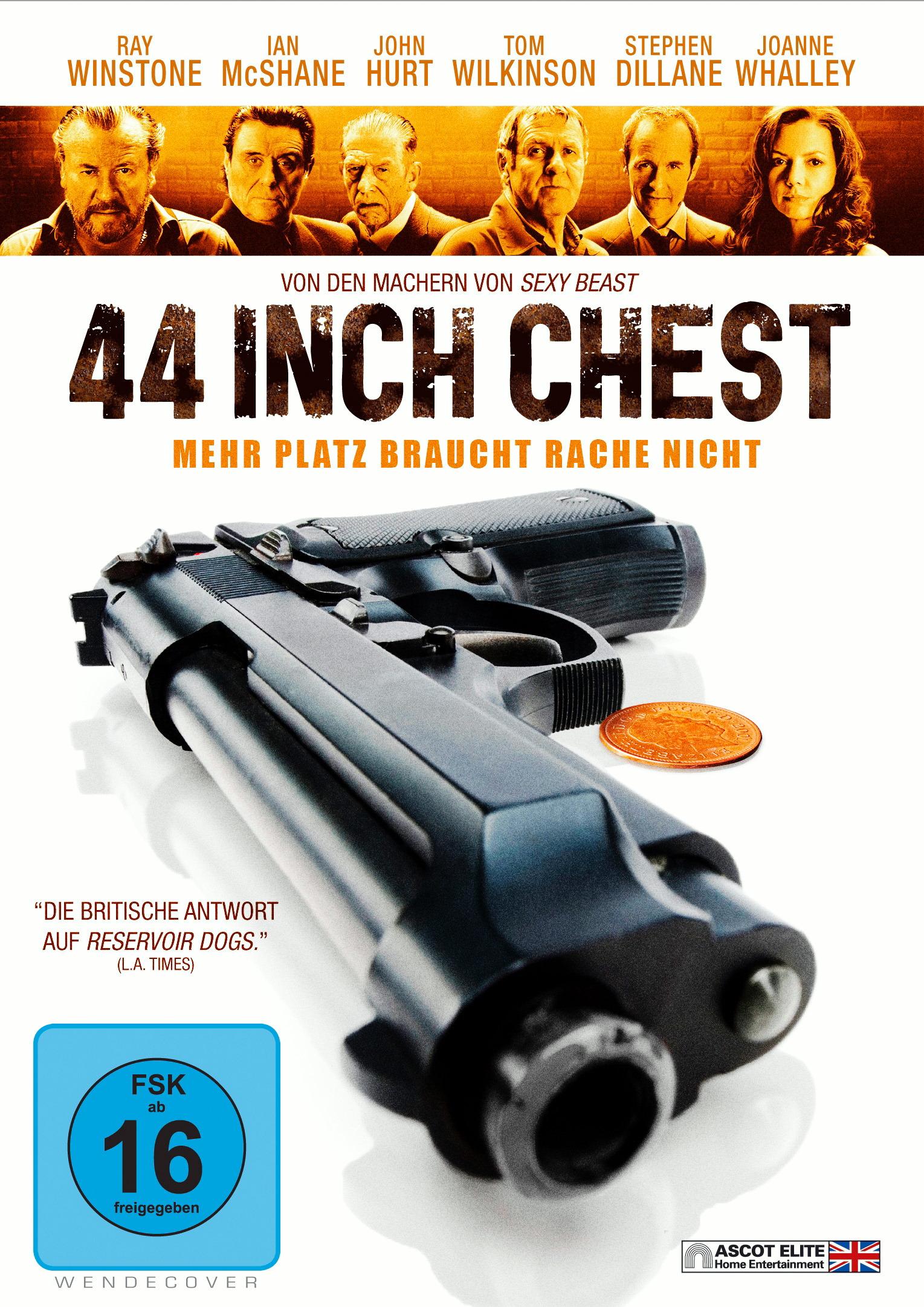 44 Inch Chest - Mehr Platz braucht Rache nicht Poster