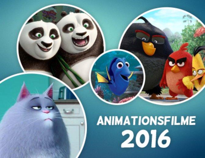 Animationsfilme 2016