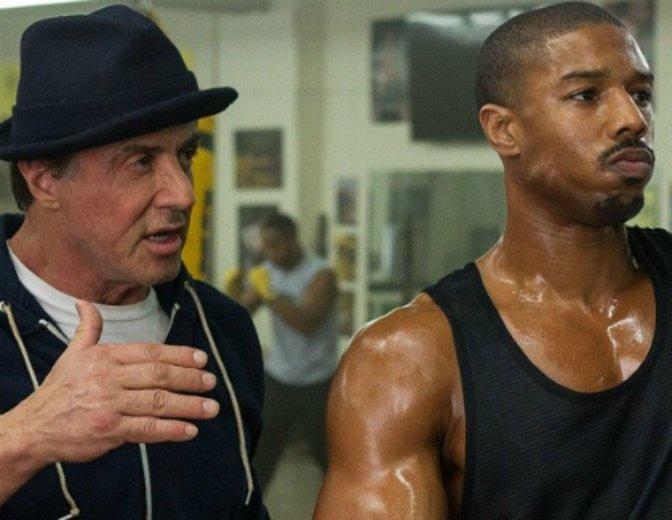 """Sylvester Stallone und Michael B. Jordan können auch für """"Creed 2"""" in der Boxhalle stehen. © Warner Bros."""