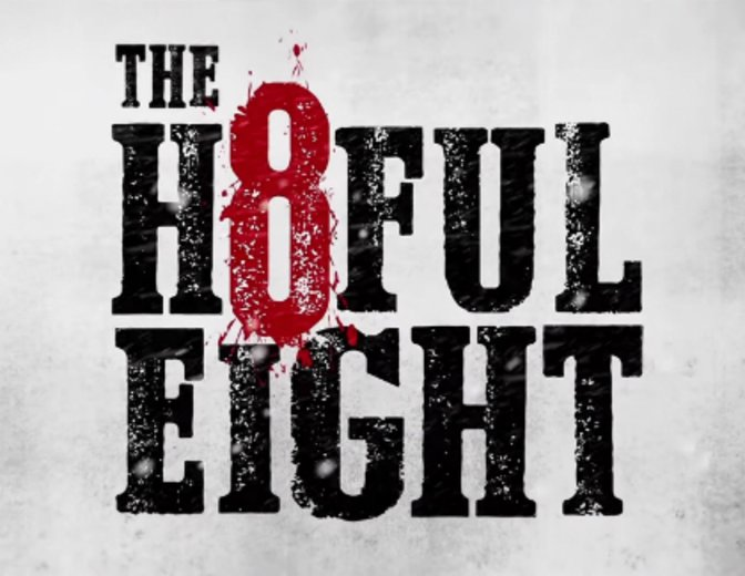 """""""The Hateful Eight"""" kann vorerst nicht an Tarantinos alte Erfolge anknüpfen. © Universum Film"""