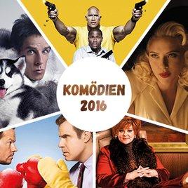 Komödien 2016 - 15 lustige Filme des Kino-Jahres, die unsere Lachmuskeln trainieren wollen