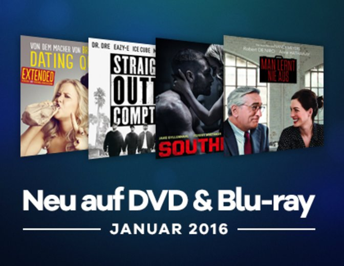 Neu auf DVD und Blu ray