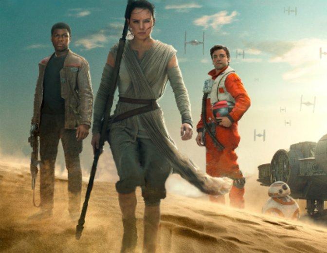 """Ist für """"Star Wars: Das Erwachen der Macht"""" die Spitze die Grenze? © Disney / Lucasfilm"""