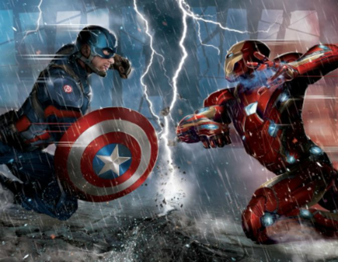 Testpublikum Civil War - Arrtikel