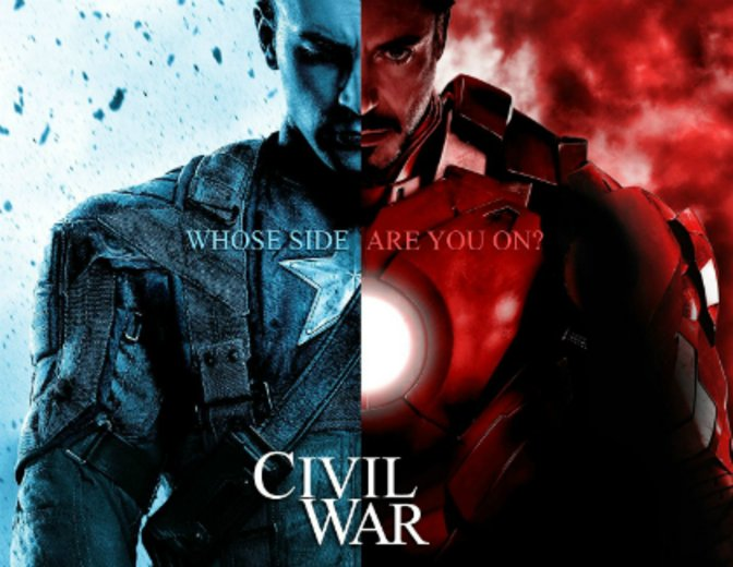The First Avenger Civil War - MCU3