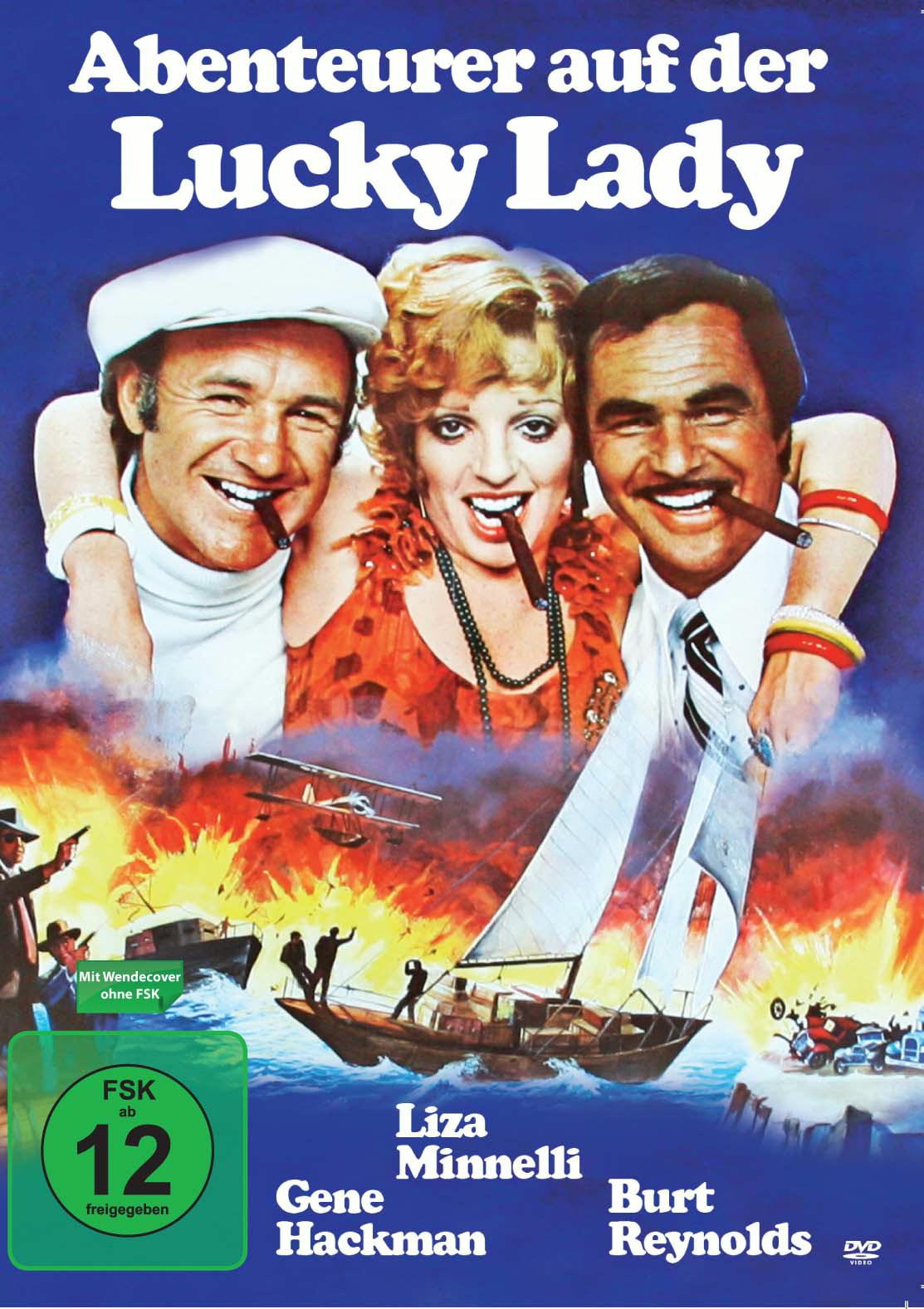 Abenteurer auf der Lucky Lady Poster