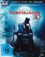 Abraham Lincoln - Vampirjäger (Blu-ray 3D, + Blu-ray 2D, + DVD, + Digital Copy) Poster