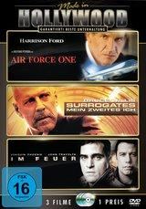 Air Force One / Surrogates - Mein zweites Ich / Im Feuer (3 Discs) Poster