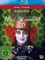 Alice im Wunderland (Blu-ray 3D + Blu-ray 2D) Poster