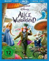 Alice im Wunderland (+ DVD, + Digital Copy, 3 Discs) Poster