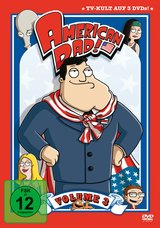 American Dad - Season 3 (3 DVDs) Poster