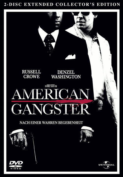 American Gangster (Extended Collector' s Edition, 2 DVDs, Steelbook) Poster