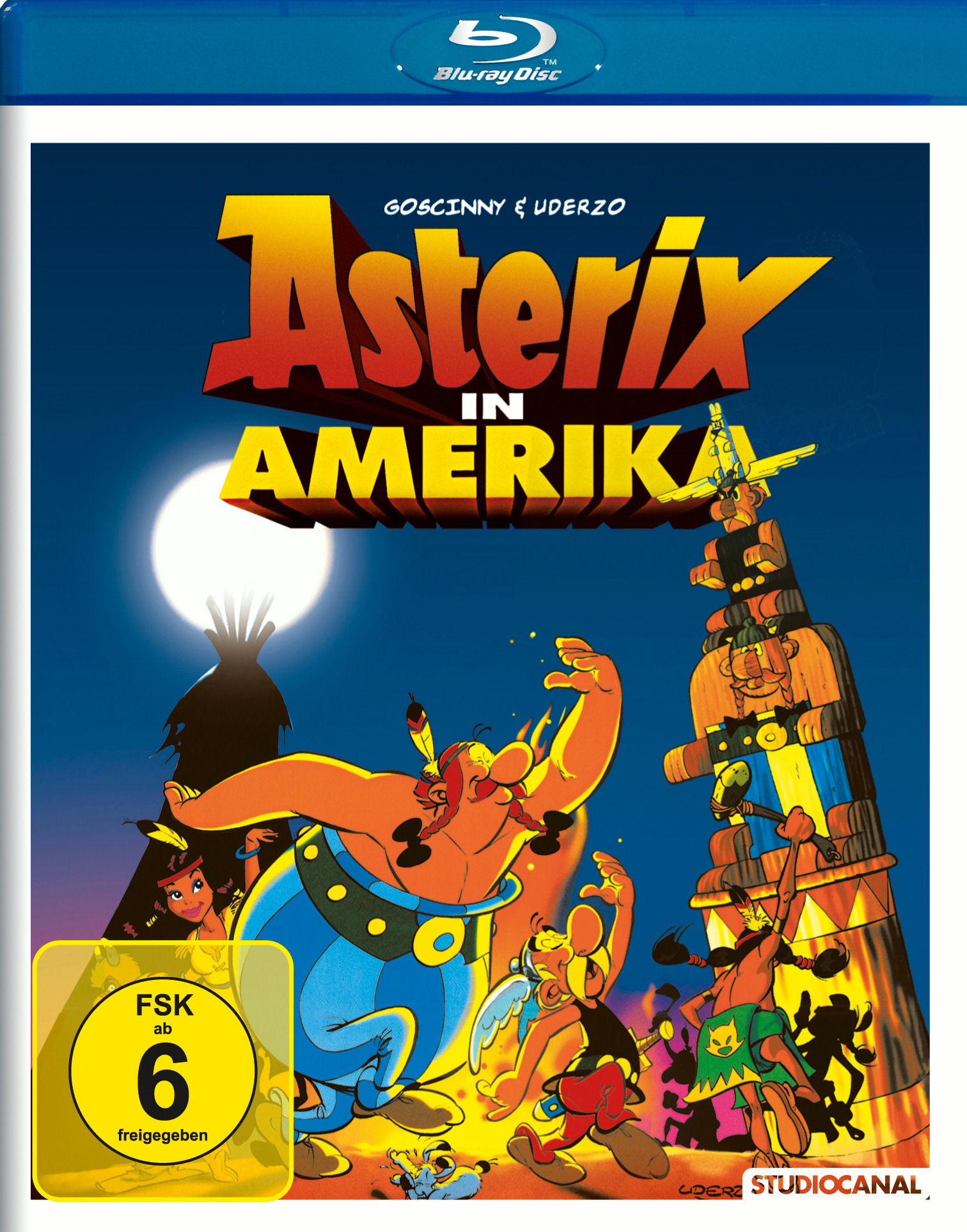 Asterix in Amerika Poster
