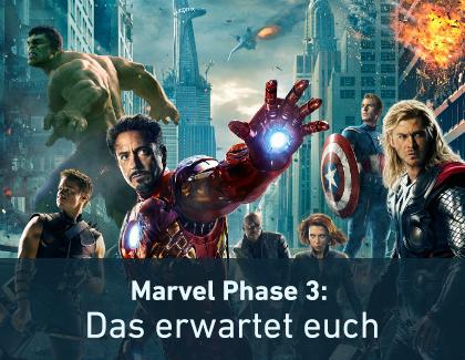 Marvel Phase 3: Diese Comicfilme erwarten euch in den nächsten Jahren