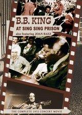"""B.B. King & Joan Baez - At """"Sing Sing"""" Prison Poster"""